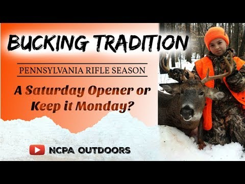 Craig Stevens - Game Commission Moves Opening Day Deer Hunting Season To Saturday