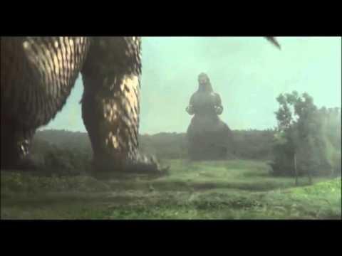 Godzilla vs King Ghidorah (1991)-We Will Rock You-Queen