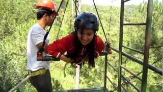 superman ride at tree top adventure baguio