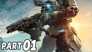 Titanfall 2 Gameplay German PS4 - Meine erste Runde - Let's Play Titanfall 2 Deutsch Part 1