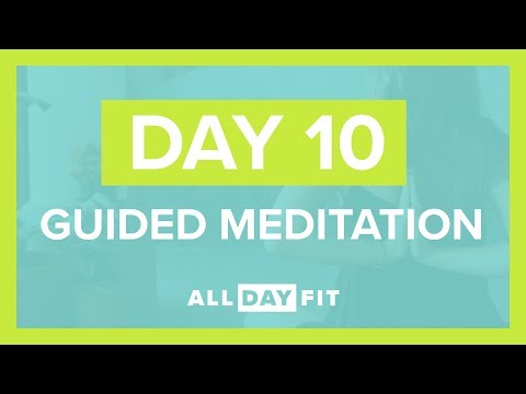 Guided Meditation Day 10 | Mindful Yoga Flow Round 2