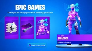 CLAIM the FREE GALAXY ITEMS in Fortnite (NOUVEAU)