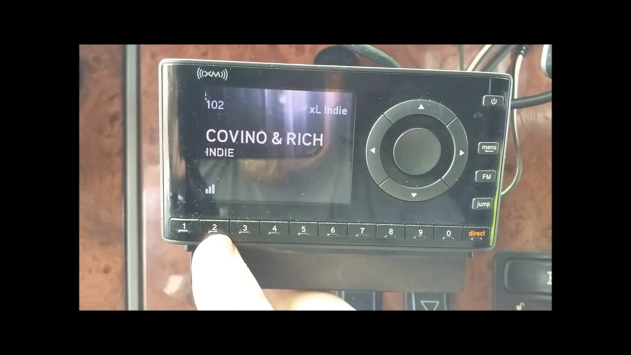 how to install your sirius xm radio in your semi car or truck [ 1280 x 720 Pixel ]