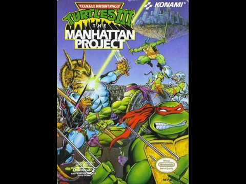 TMNT 3 The Manhattan Project Music - Opening