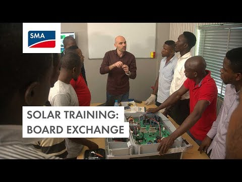 Solar Training: Board Exchange (Nigeria)