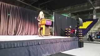 Laverne Cox at Minnesota State University