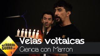 Marron sorprende a los Jonas Brother con las velas voltaicas - El Hormiguero 3.0