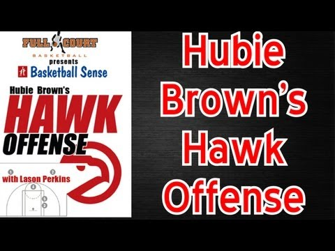 Hawk Offense Hubie Brown Basketball