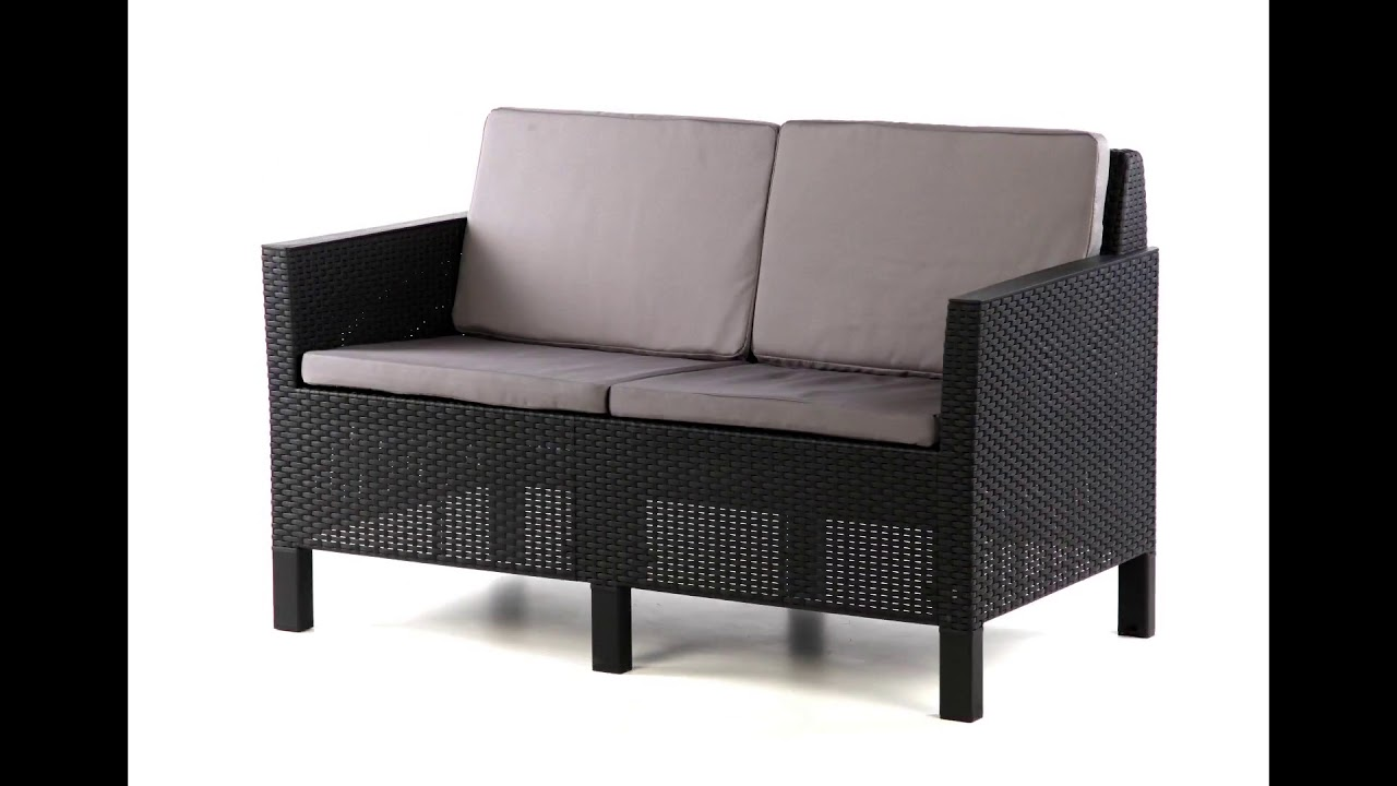 Mobilier De Jardin Wicker Oogarden Salon De Jardin Chicago Le Sofa Allibert