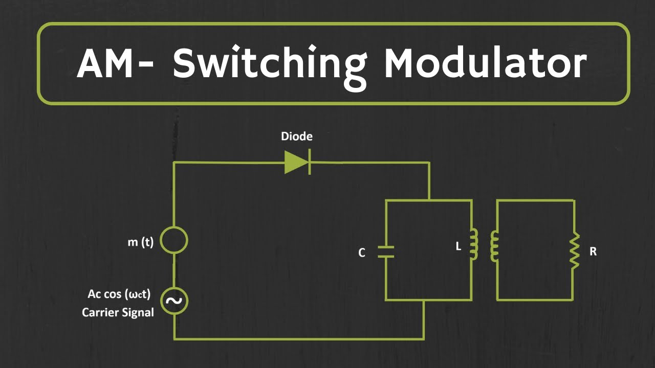 Generation of AM signal: Switching Modulator Explained