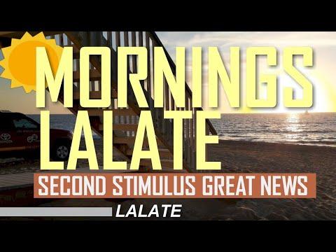 FINALLY! SECOND STIMULUS CHECK #SENATEVOTENO ! Second Stimulus Package TRUMP VETO! | MORNINGS LALATE