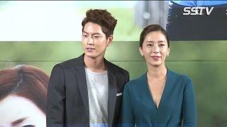 """[SSTV] '마마' 홍종현(Hong Jong Hyun) """"유라는 연애하는 기분, 송윤아는 진지한 짝사랑"""""""
