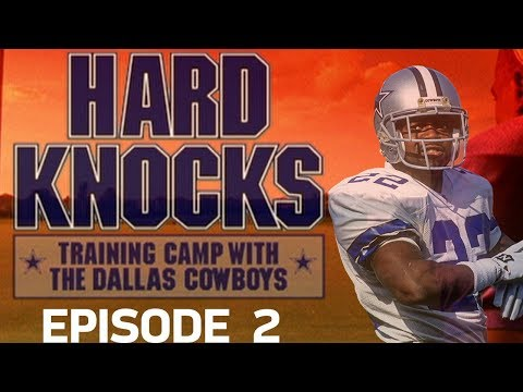 Rookie Fights Break Out & First Scrimmage Game | '02 Cowboys Hard Knocks Episode 2 | NFL Vault