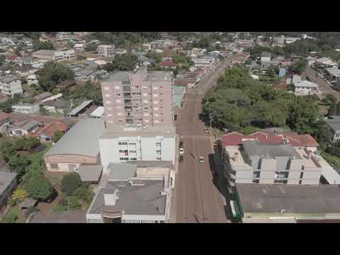São José do Ouro/RS - vista aérea da cidade