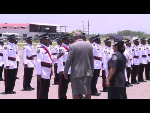 Fijian President Ratu Epeli Nailatikau arrives in Solomon Islands