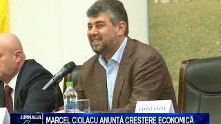 MARCEL CIOLACU ANUNTA CRESTERE ECONOMICA