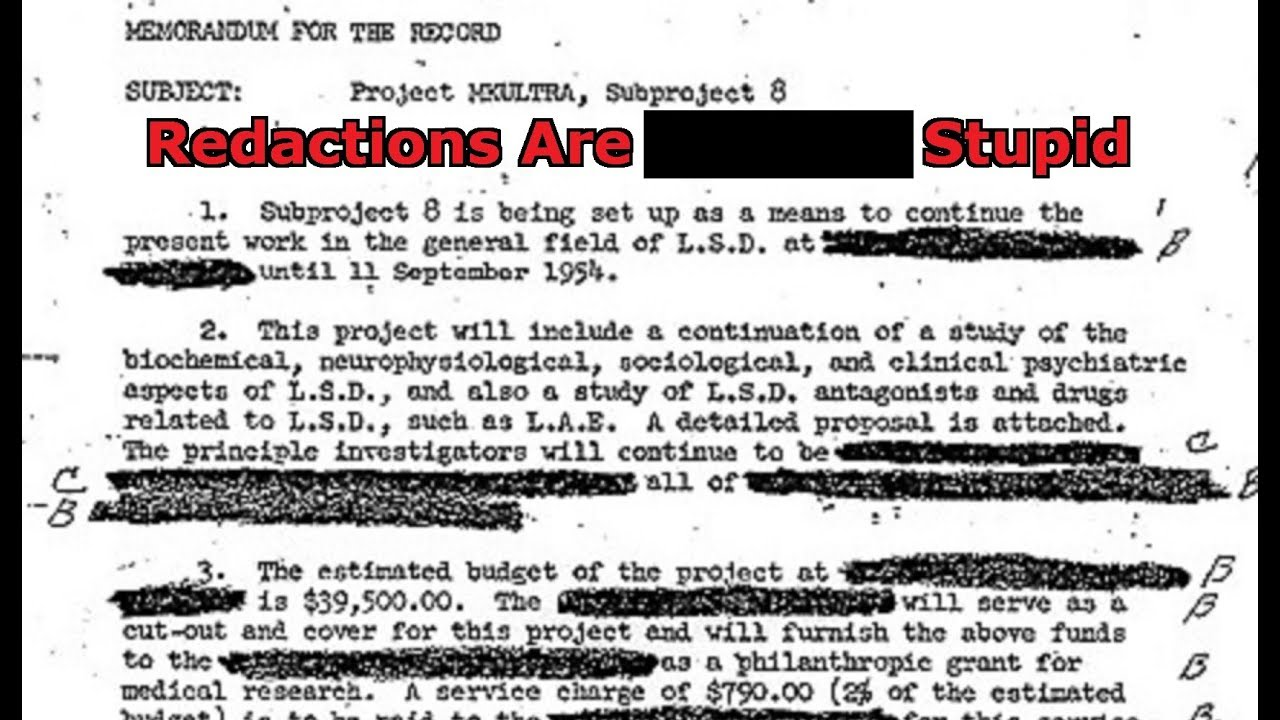 Repeat Are Redactions Ridiculous? by Dr  Cimmerian - You2Repeat