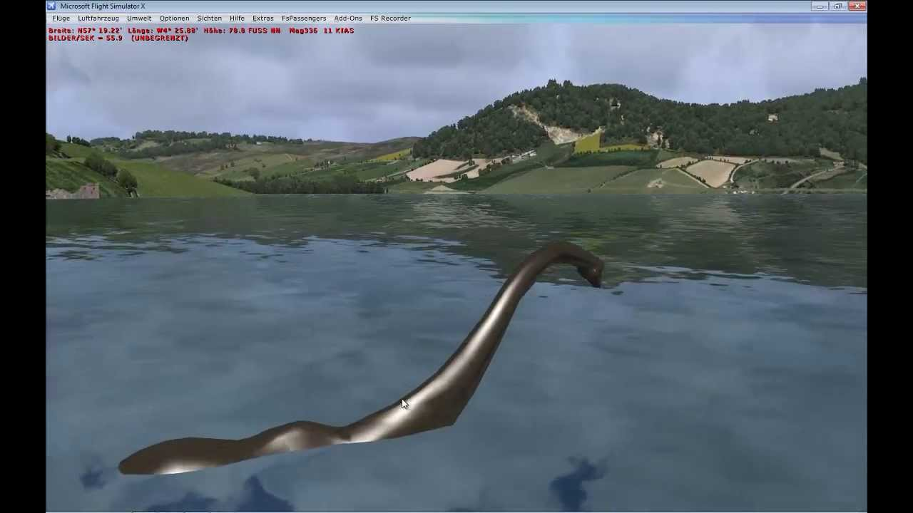 the sims 4 how to see the loch ness