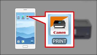 Enabling printing from a smartphone (Android) - 1/2 (TS9500 series)