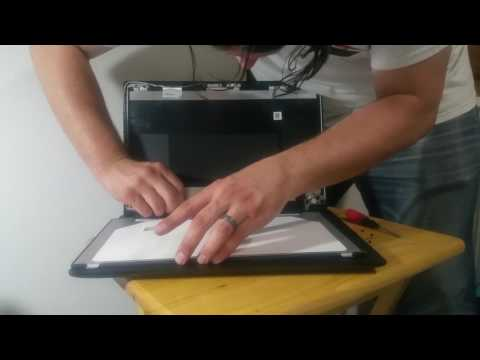 Laptop Screen Replacement / How To Replace Laptop Screen Lenovo Ideapad 110-15isk