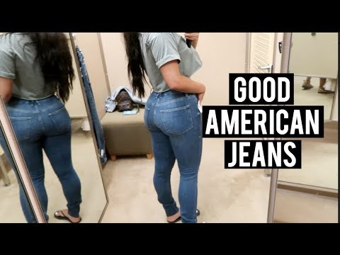 Trying On Good American Jeans For 1st Time
