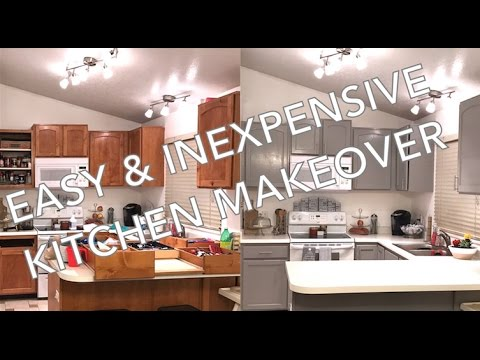 repaint kitchen cabinets painting kitchen cabinets easy amp inexpensive 1859