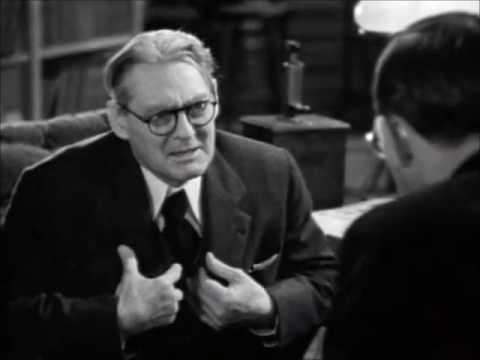 You Can't Take It With You -Lionel Barrymore great scene