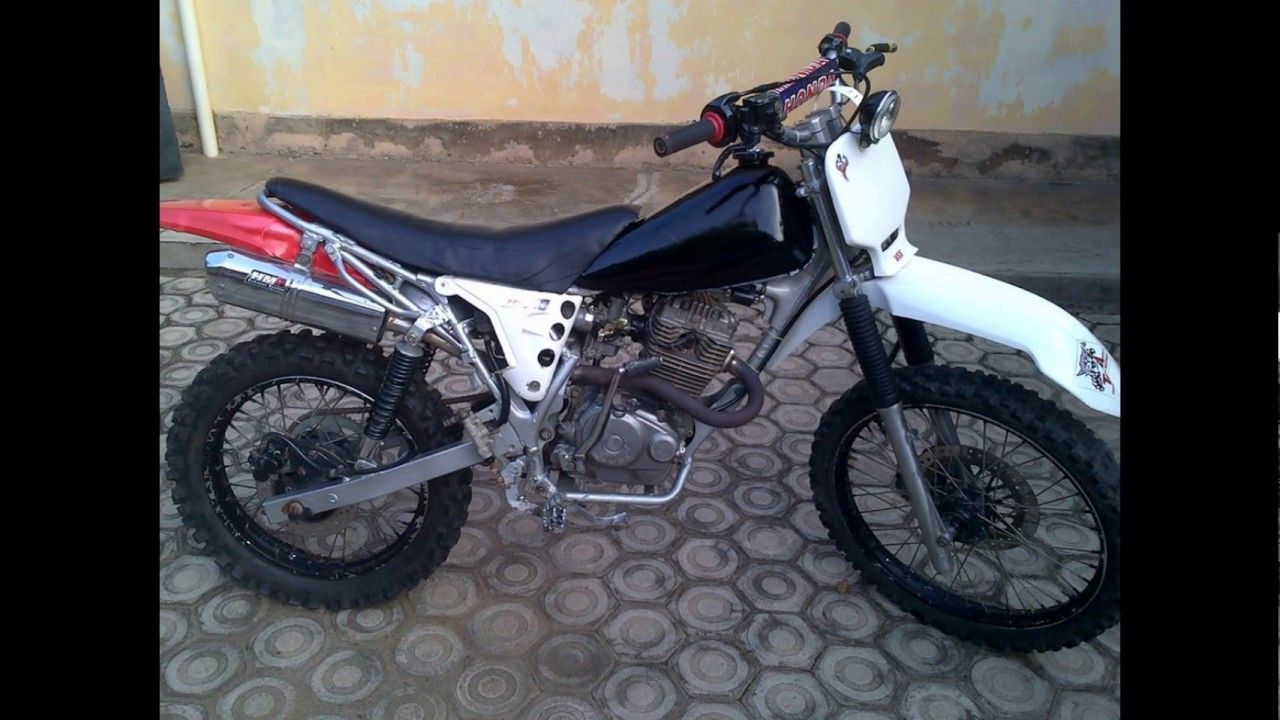 video kumpulan foto motor modifikasi trail''honda mega pro'' - youtube