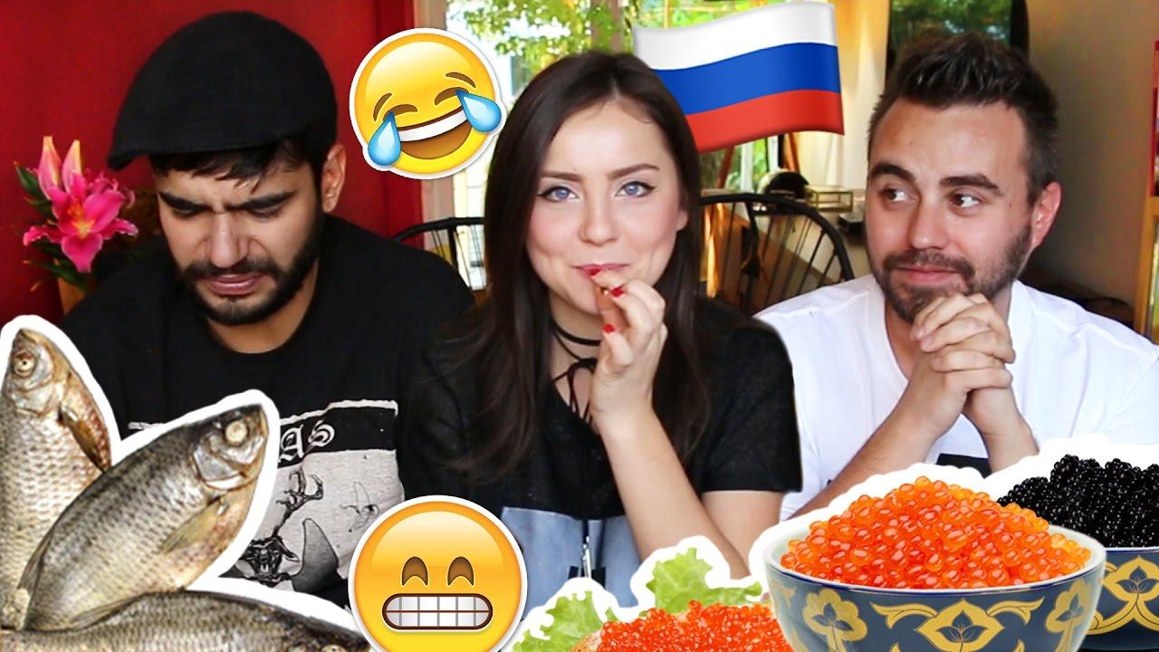 Gaby Potencia Nude probando comida rara rusa ★ ft. pepeproblemas & alexjuxx - youtube