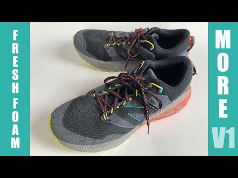Activo Sumergir Saludar  New Balance Fresh Foam More Trail V1 | NEW Trail Shoes Max Cushion and  Light - YouTube