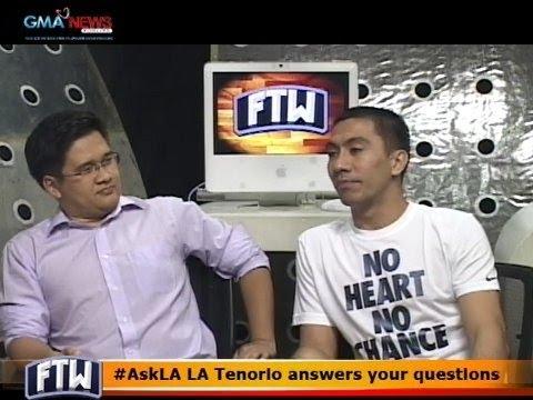 FTW: #AskLA LA Tenorio answers your questions