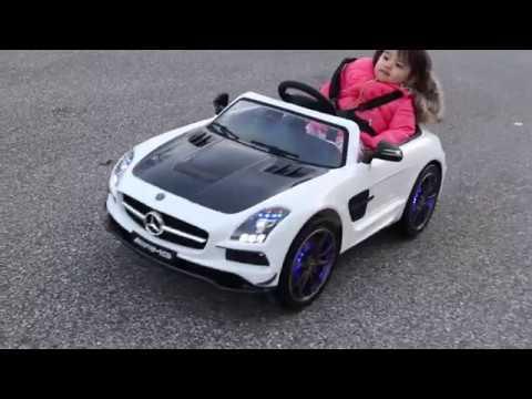 Kid Electric Car >> 2018 SUPER FAST Moderno Kids Mercedes SLS AMG 12V Electric ...