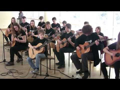 Mission Impossible Theme - Warsaw Guitar Orchestra