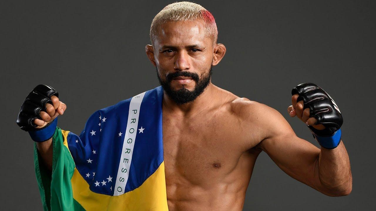 Deiveson, o Deus da Guerra (Foto: UFC)