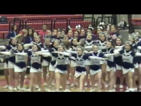 Fontbonne Hall Academy Varsity Cheerleaders compete at Bridgewater, New Jersey,  2012