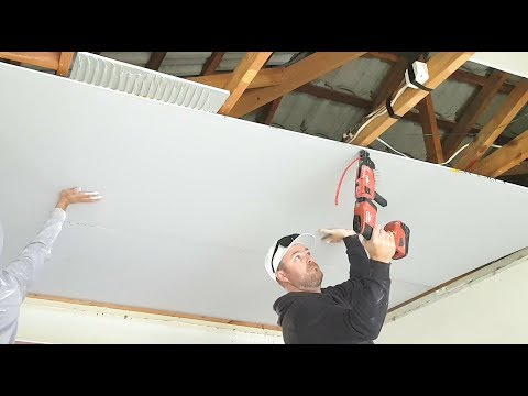 Get Stronger Joints when Hanging your Drywall Ceiling