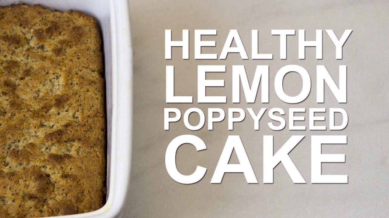 How to Make DELICIOUS Lemon Poppyseed Cake - YouTube
