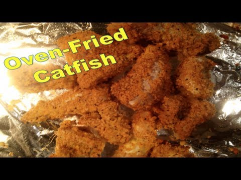 Oven Fried Cat Fish ★Dr. BBBD Vlog 4★