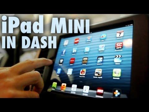 Apple iPad Mini Installed in Car Dash (Fit & Finish) - Part 2