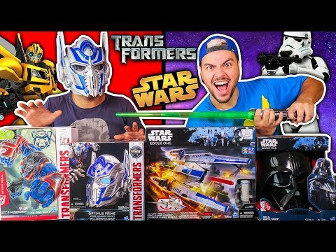 Download Youtube: TESTANDO BRINQUEDOS DE STAR WARS E TRANSFORMERS (MUITA TECNOLOGIA)