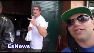 Logan Paul Clowns KSI Down To Fight Conor McGregor EsNews Boxing