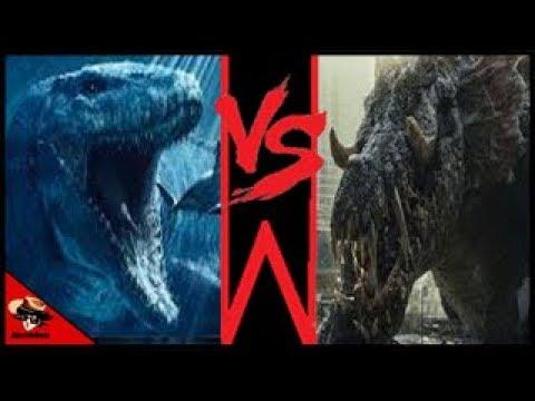 Mosasaurus Vs Lizzie ¿Quien Ganaría en un Combate?