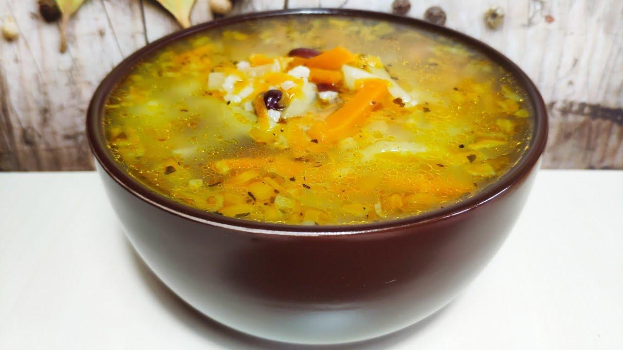 Суп Крестьянский. Простой рецепт вкусного супа !