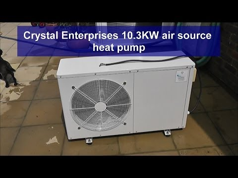 REVIEW - Swimming Pool Heat Pump - 10.3 KW Crystalclear Enterprises