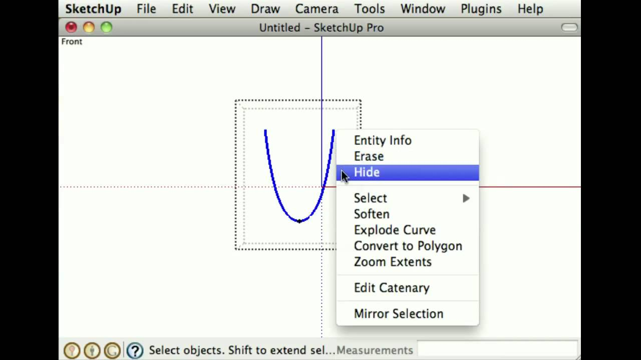 Comparing Bezier curves, B-splines, and NURBS objects