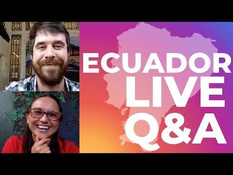 Ecuador Instagram Live Q&A