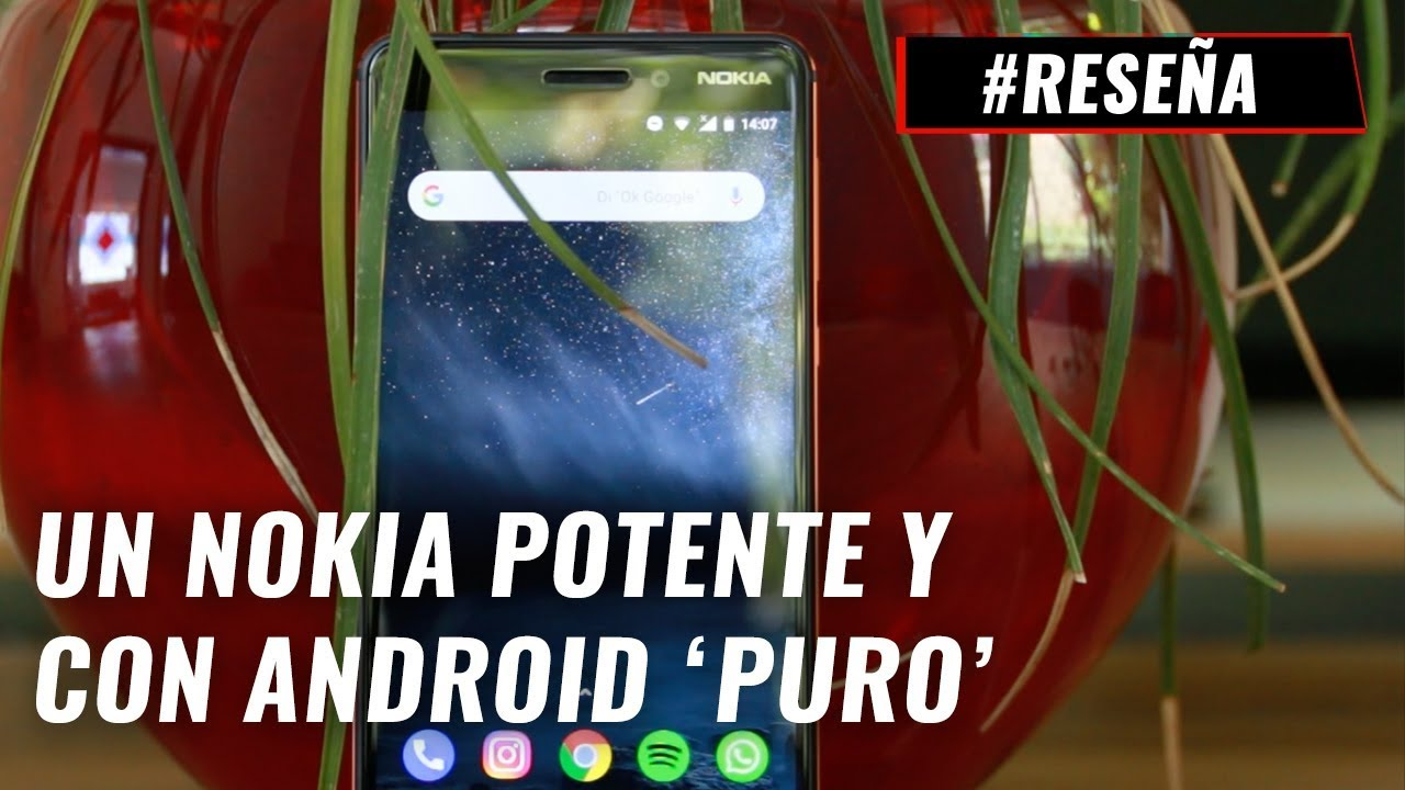75c18a71188 Video: Reseña Nokia 6.1
