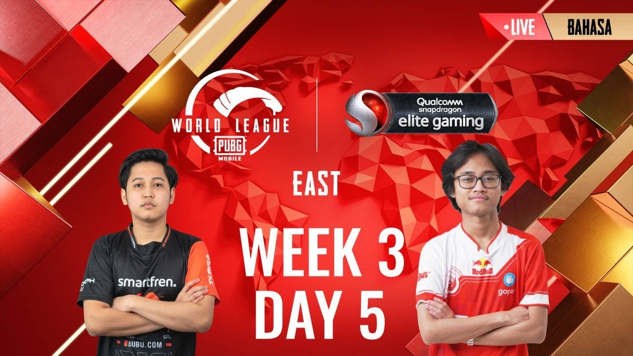[BAHASA] W3D5 - PMWL EAST - Super Weekend | PUBG MOBILE World League Season Zero (2020)