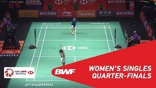 QF | WS | Ratchanok INTANON (THA) [6] vs CHEN Yufei (CHN) [4] | BWF 2018