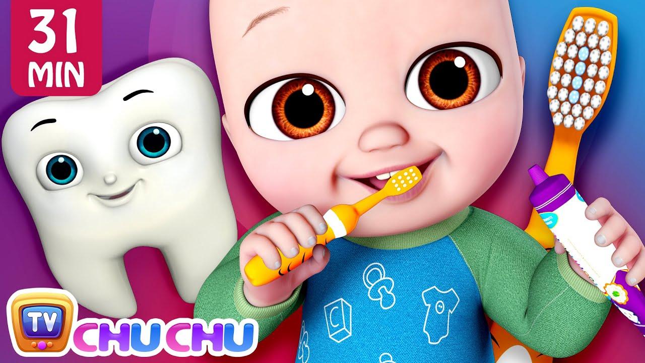 No No Brush My Teeth Song + More ChuChu TV Baby Nursery Rhymes & Kids Songs